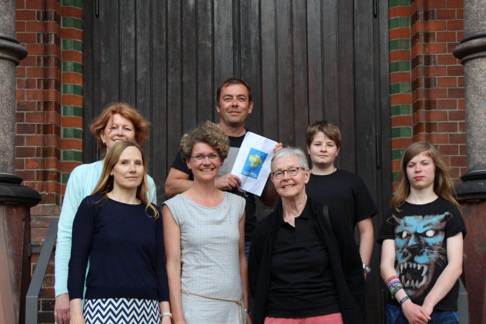 Weidenfest Organisatoren Nina Schumann Manfred Pakusius. Foto: Max Gilbert