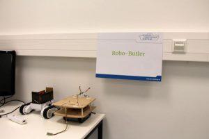 Der Robo-Butler. Ist das die Hilfskraft der Zukunft? Foto: Alisa Pflug