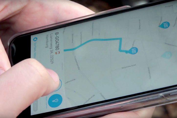 Carsharing, Car2go, Auto, App, Smartphone