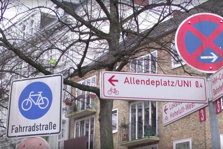 Hamburg will Fahrradstadt werden und investiert in Velorouten. Foto: Irem Çatı