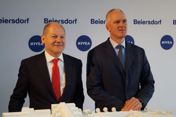 Beiersdorf: Neue Konzernzentrale am Standort Eimsbüttel