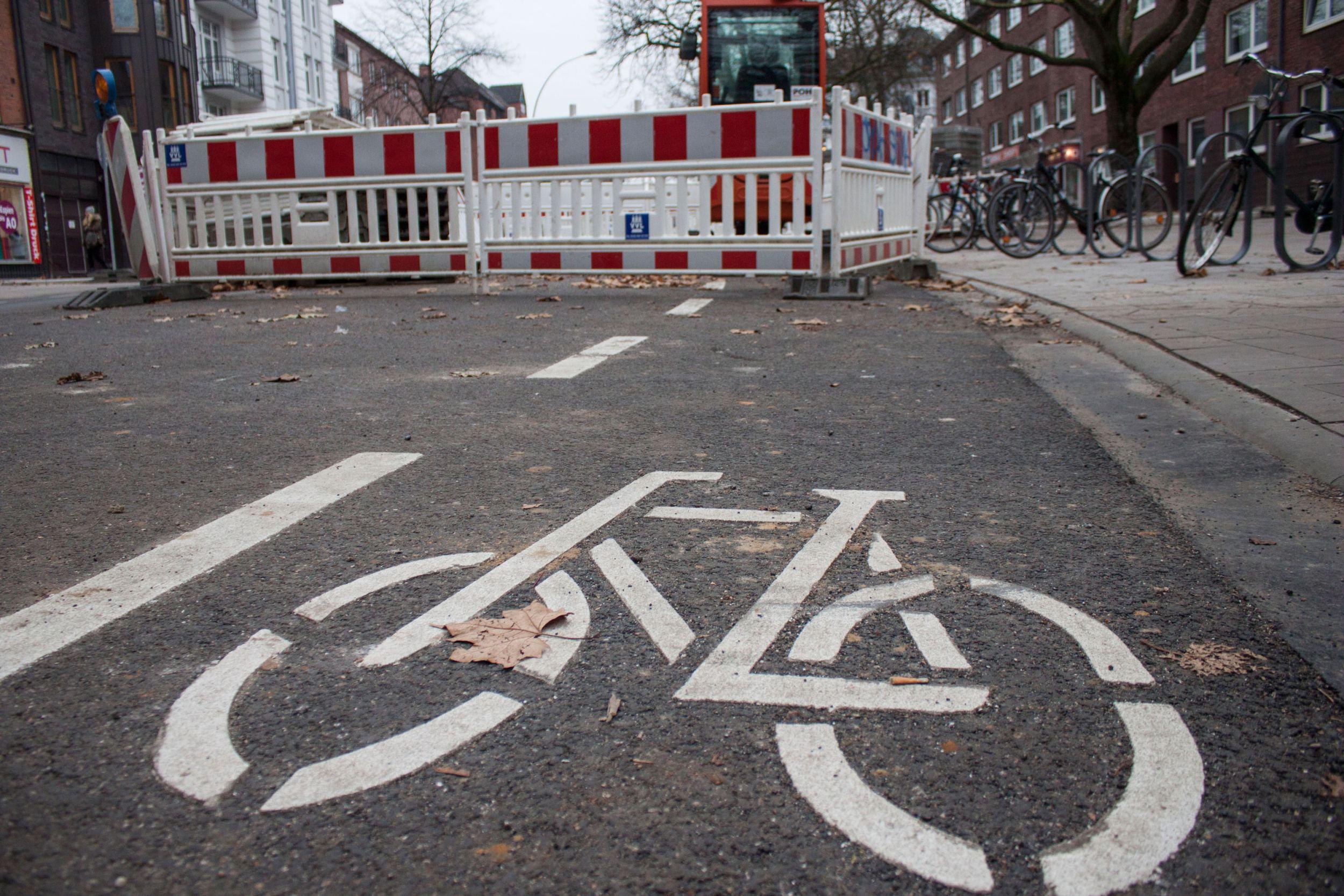 Fahrradwege in Eimsbüttel: Hamburgs holpriger Weg zur Fahrradstadt