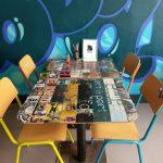 Anboard, Pizzeria, Graffiti, Pizza