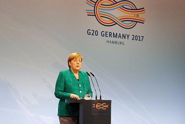 Merkel: Keine Kritik am G20-Standort Hamburg