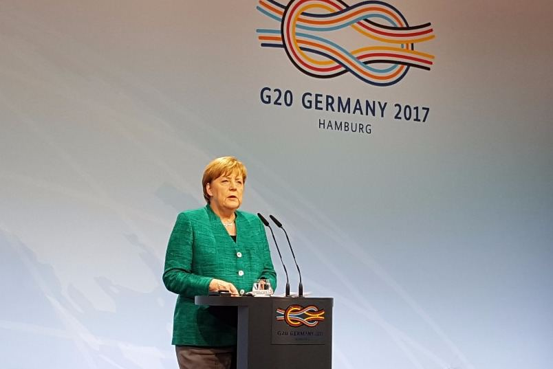 Merkel G20 Foto: Max Gilbert