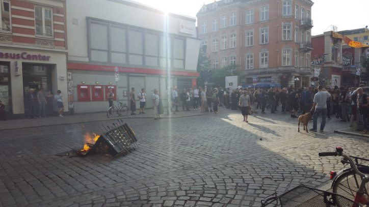 Schulterblatt, G20, Demonstration