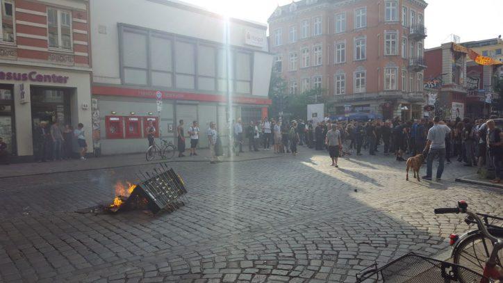 Schulterblatt, G20, Demonstration