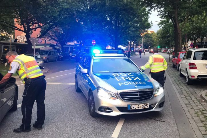 Demorave, Landungsbrücken, G20, G20-Gipfel, Protest, Demonstration, Eimsbüttel, Stresemannstraße
