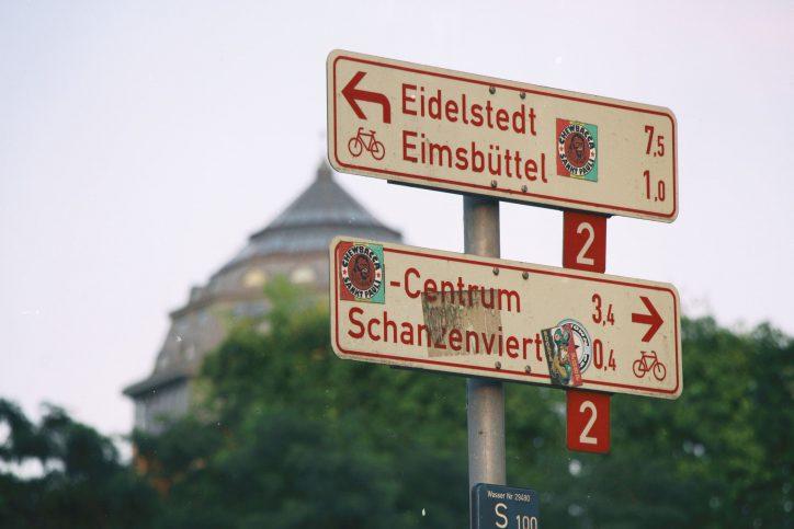 Holt mit uns die Schanze zurück nach Eimsbüttel!