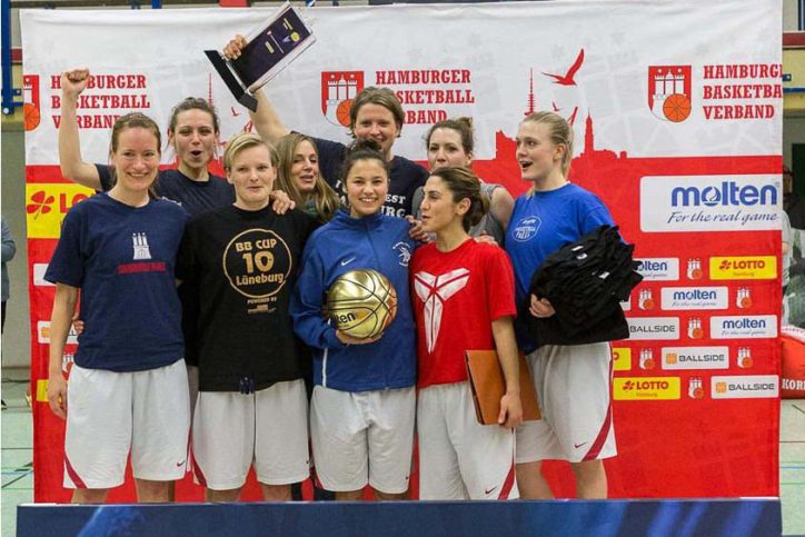BG HH West - Frauen SVE Basketball Hamburger Pokal Sieger