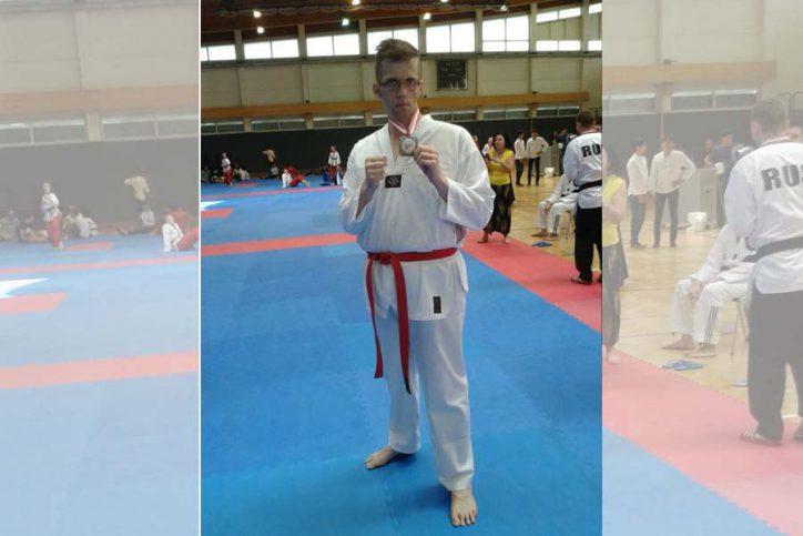 Dennis Asmussen Tangun HH Tae Kwon Do (Ehemaliger Deutscher Meister Para P 20)