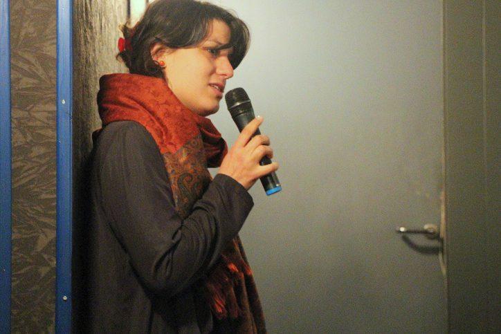 """Ellebeidy: """"Frauenwahlrechte sind hart erkämpfte Rechte"""". Foto: Olivera Zivkovic"""