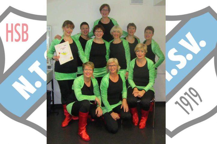 Jakaduwo Showgruppe - Niendorfer TSV Tanzen und Turnen Rendezvous der Besten - Deutsche Meisterschaft 2016 - 10 Jahre Bestehen 7. Auszeichnung