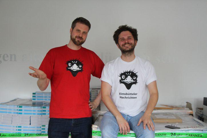 Jan Hildebrandt (Gründer) und Fabian Hennig (Chefredakteur). Foto: Olivera Zivkovic