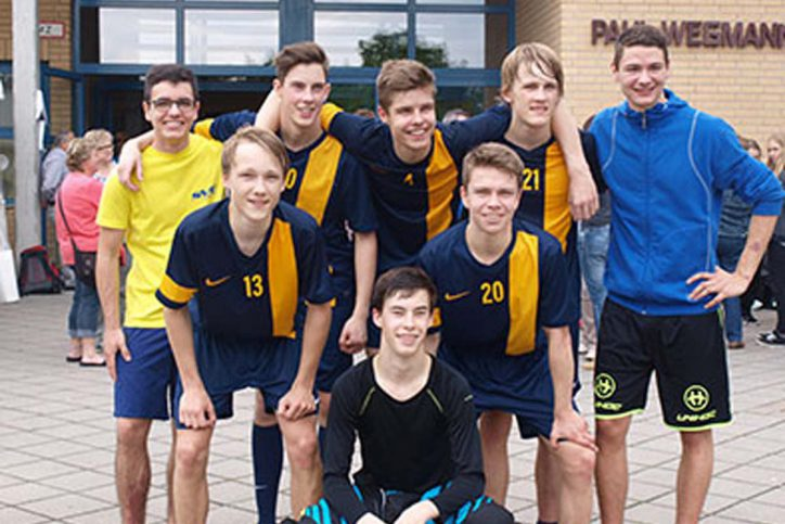 U17 Mannschaft_SV Eidelstedt Floorball (2. Platz Deutsche Meisterschaften)