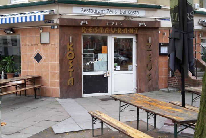 Restaurant Zeus in Eimsbüttel. Foto: Jan Hildebrandt