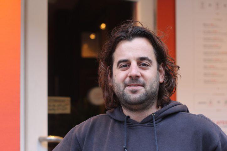 SomeDimSum Betreiber Benjamin Heine hat sein erstes Restaurant eröffnet. Foto: Phillip Holländer