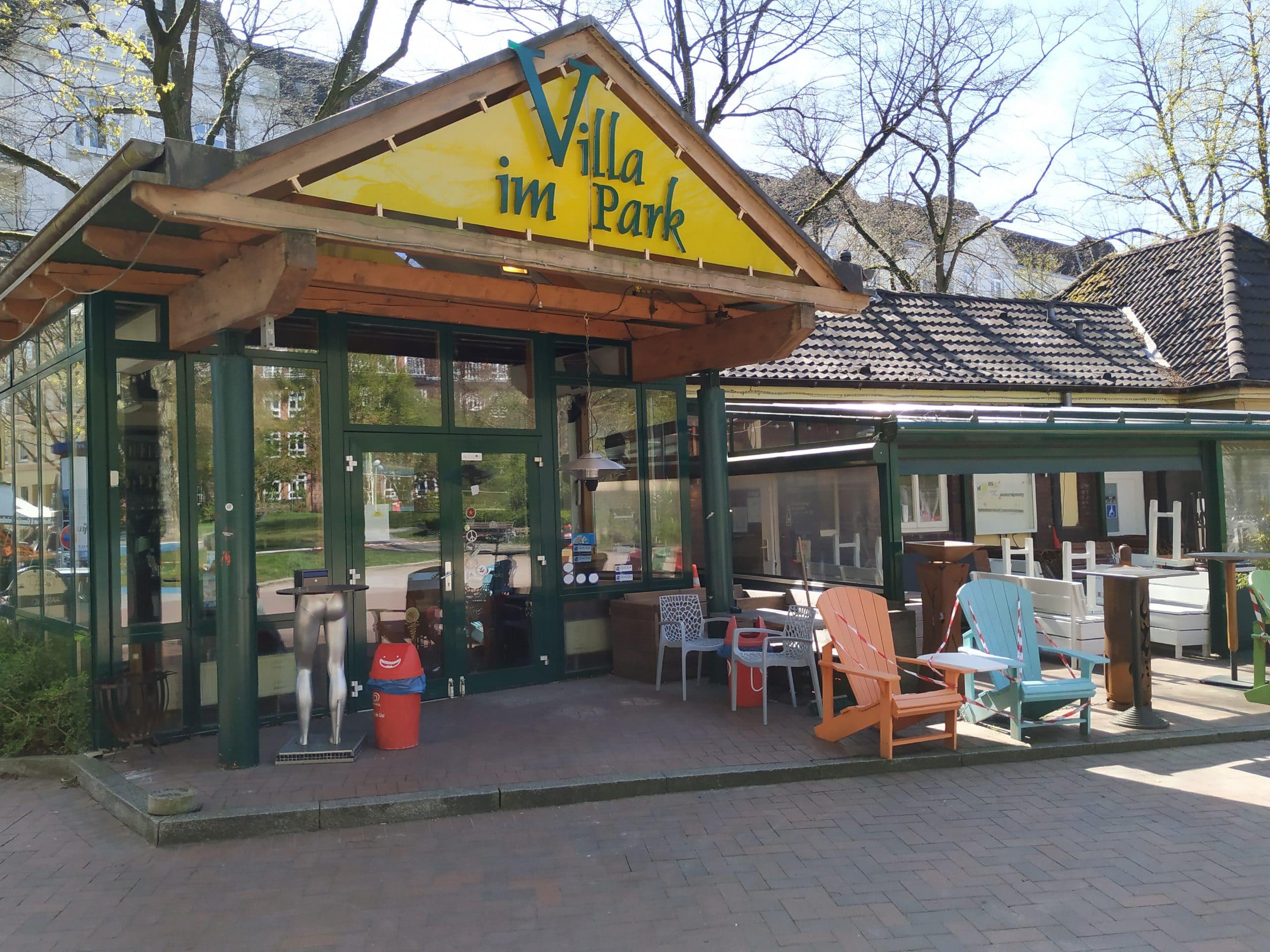 Villa im Park Hamburg Eimsbuettel aussen 2