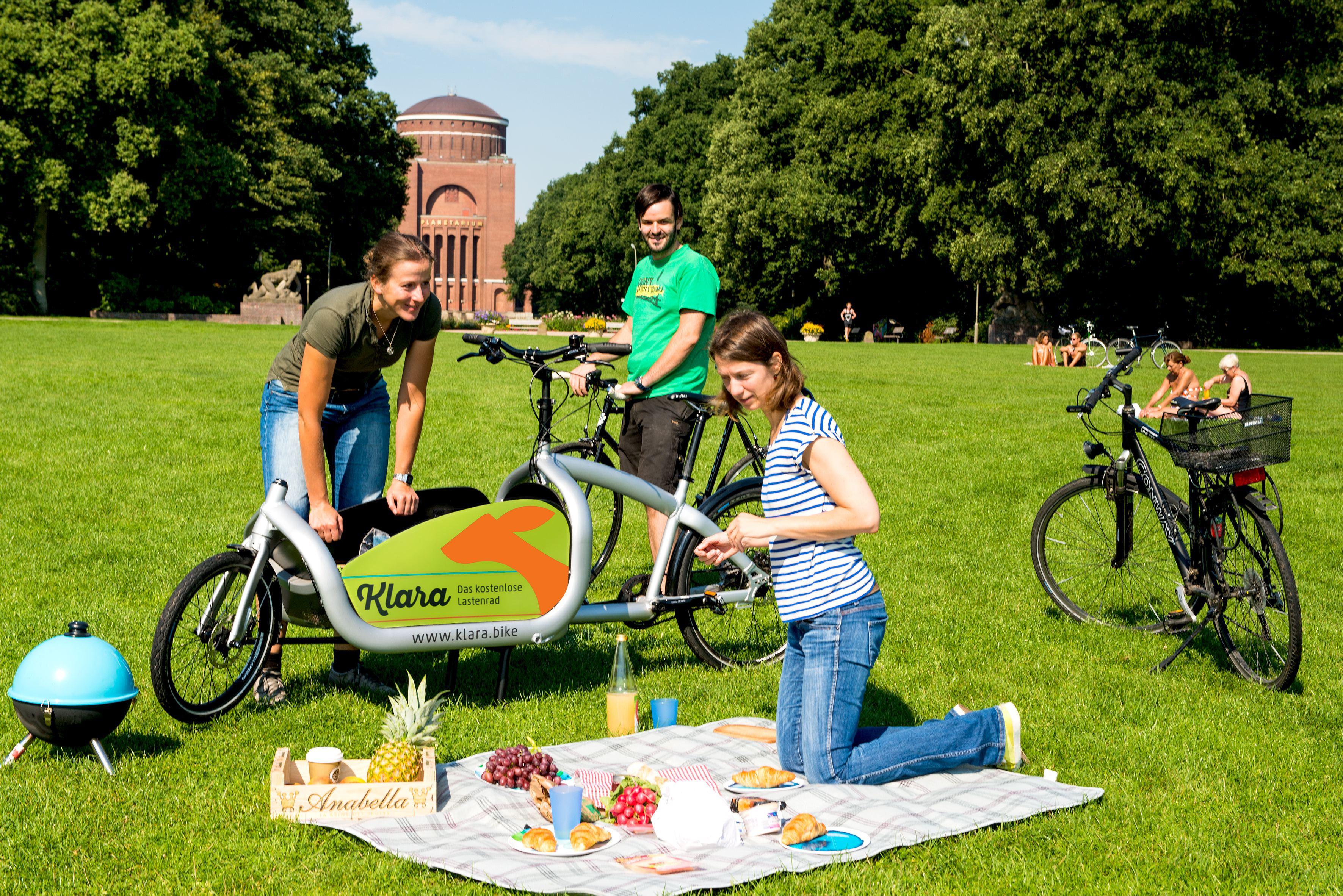 Klara Bike – Das kostenlose Lastenrad