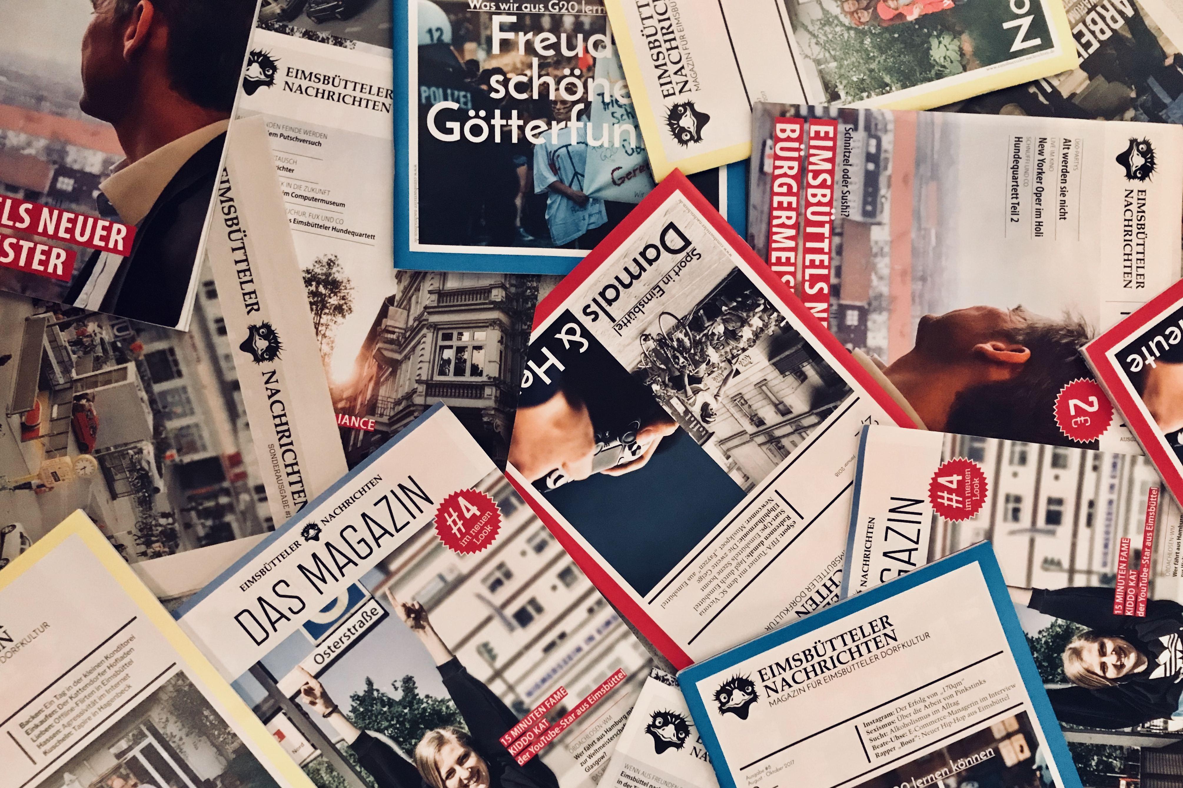 Jubil umsausgabe magazin eimsb tteler nachrichten for Nachrichten magazin
