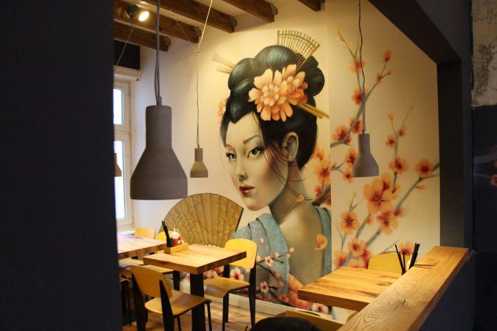 Neueröffnung des MOMO Ramen Restaurants in der Margaretenstraße. Foto: Vanessa Leitschuh