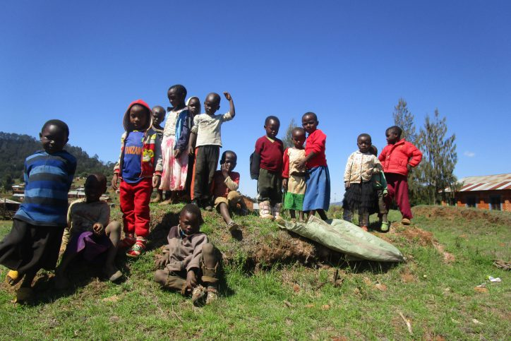 Kinder von Malembuli. Foto: Astrid Hempfling