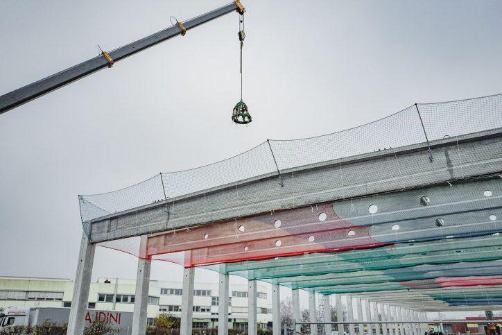 Richtfest S-bahn-Instandhaltungswerk Stellingen. Foto: Quadra Ingenieure GmbH