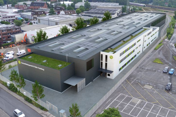 S-Bahn baut für 35 Millionen ein neues Instandhaltungswerk