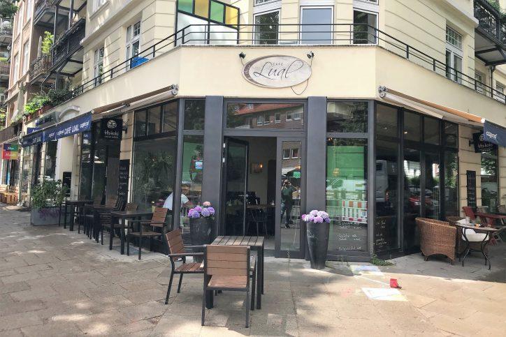 Hamburg-Eimsbuettel_Cafe Lual_Aussenansicht