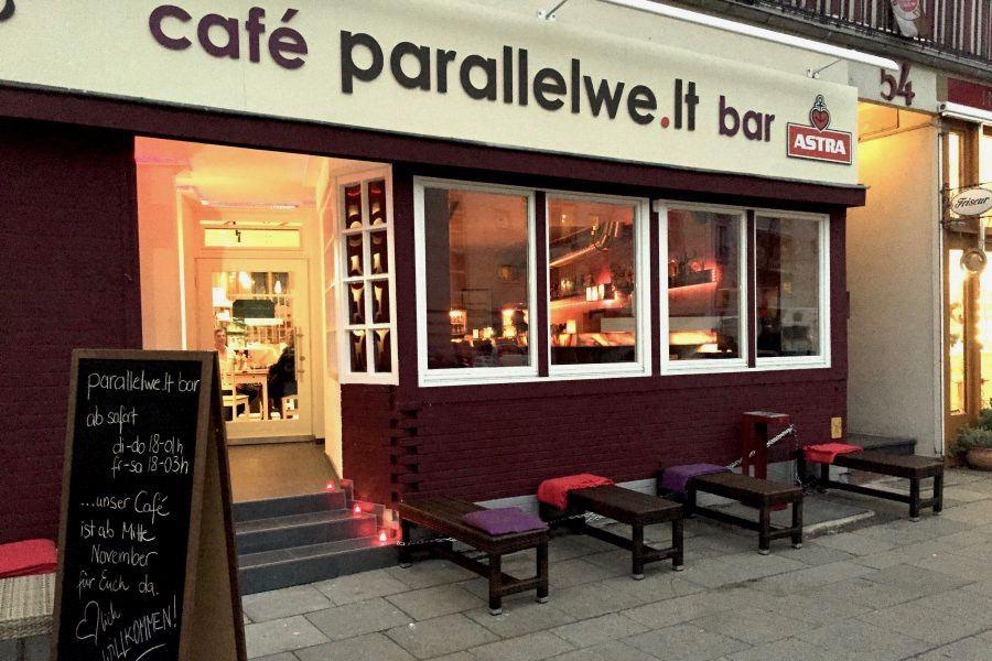 Café Parallelwelt Hamburg Eimsbüttel Tine Wittler. Foto: Cafe Parallelwelt