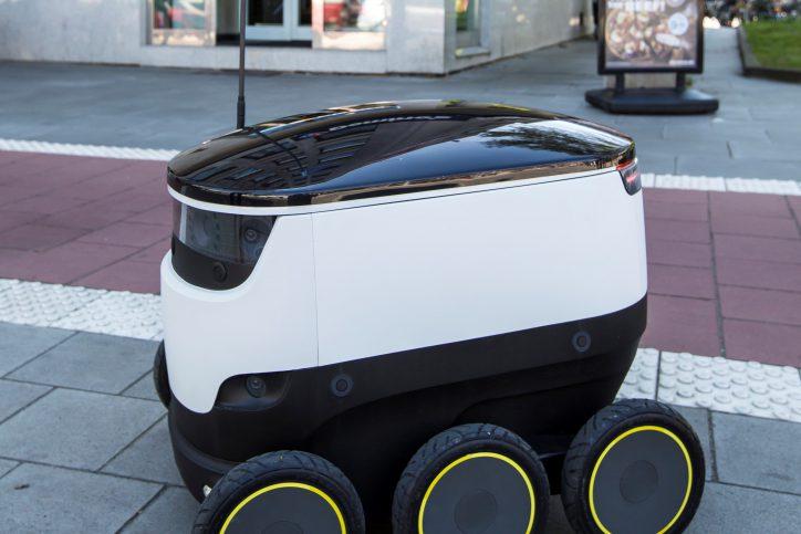 Lieferroboter von Dominos. Foto: Dominos