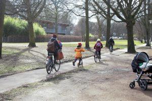 Fahrradstadt Eimsbüttel. Foto: Eimsbütteler Nachrichten