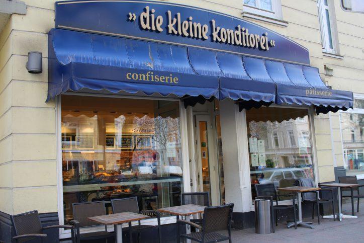Kleine Konditorei Lutterothstraße Außenansicht. Foto: Nele Deutschmann
