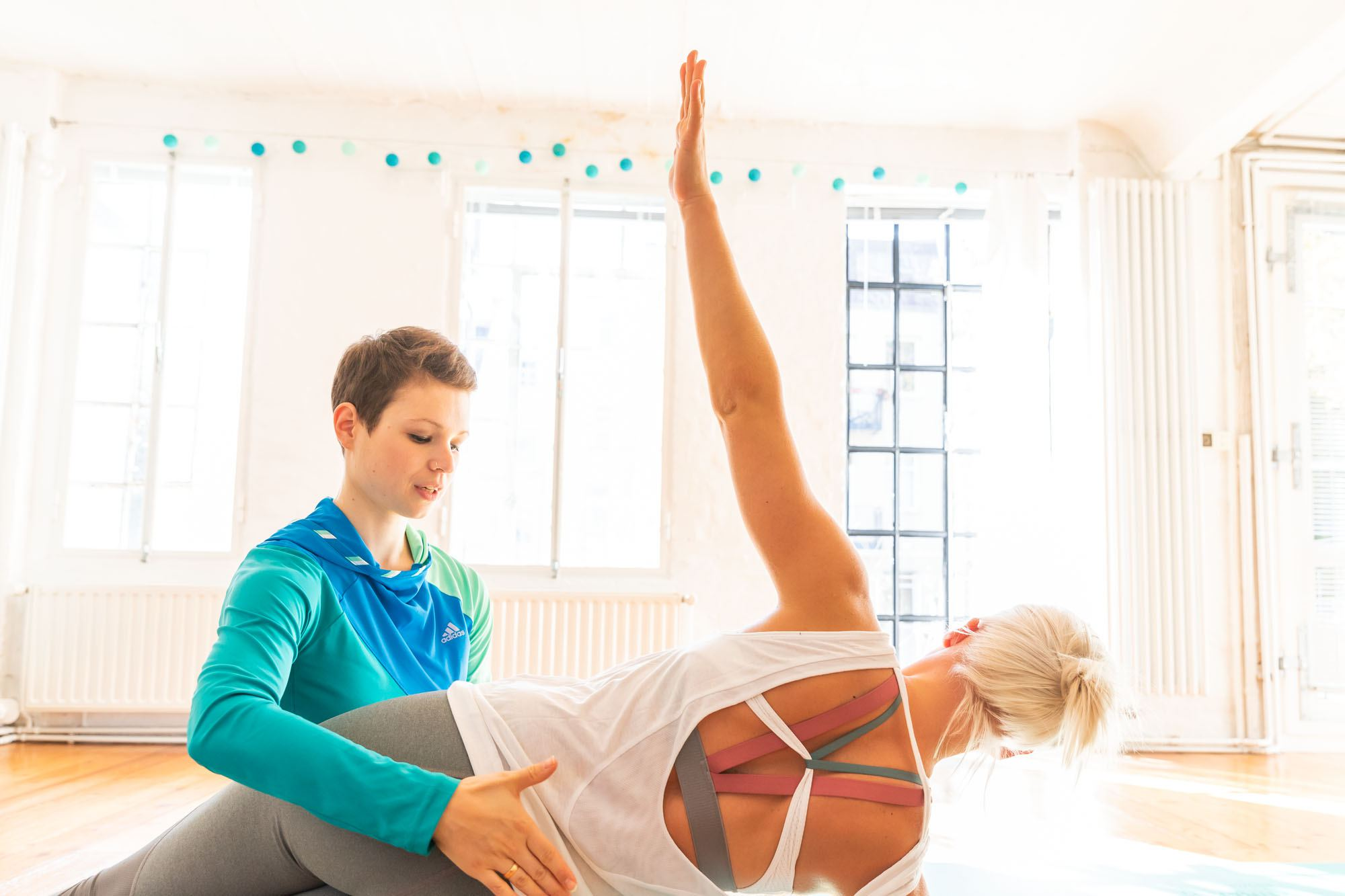 Pure Balance Pilates Bewegungsraum. Foto: Pure Balance