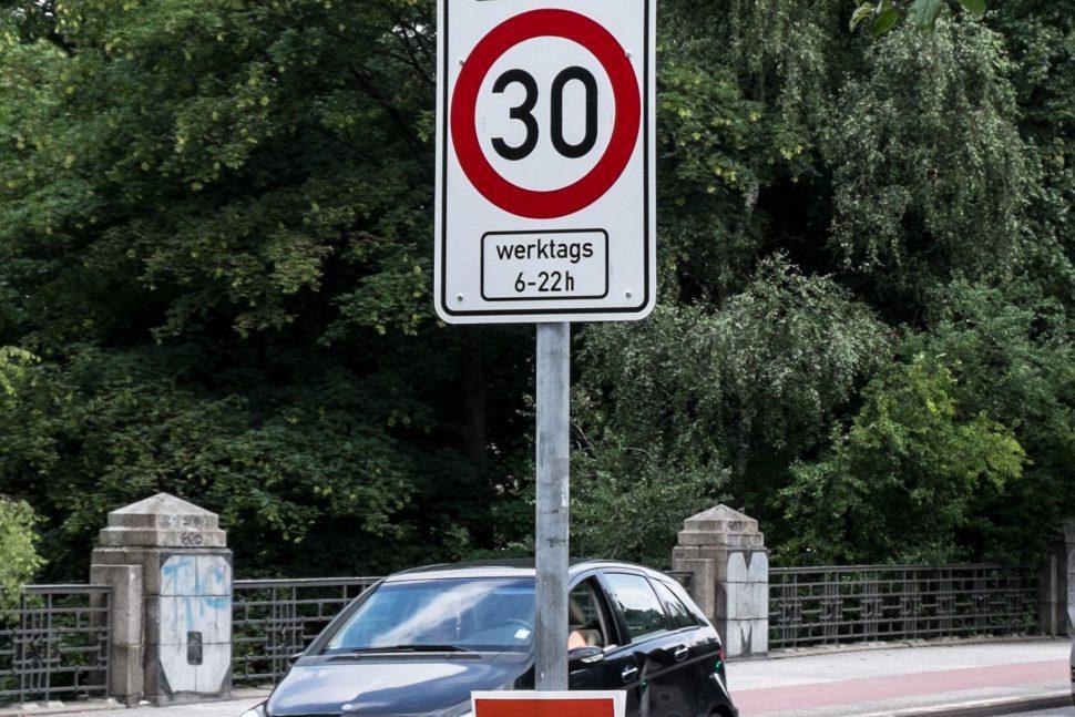 Neue Tempo-30-Zonen. Foto: Dennis Imhäuser