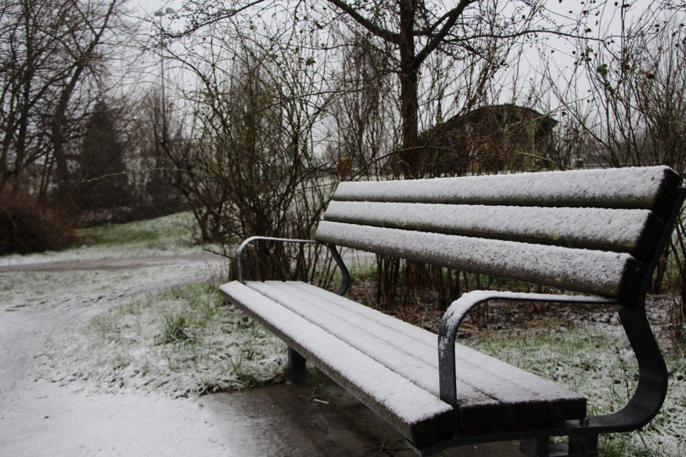 Schnee in Hamburg Eimsbüttel Foto: Monika Dzialas