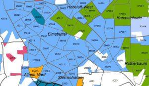 Eimsbüttel Sozialmonitoring Bericht 2017 Hamburg Screenshot Quelle: BSW