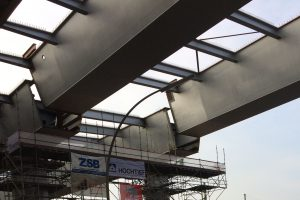 Brückenhochzet langenfelder Brücke A7. Foto: Susanne Meinecke/Behörde für Wirtschaft und Verkehr