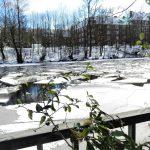 Eimsbüttel im Schnee. Foto: Rita Frese