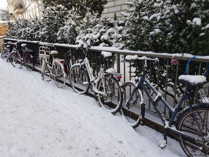 Eimsbüttel im Schnee