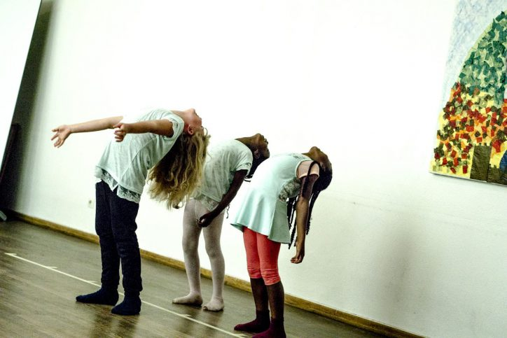 Kommunikation durch Bewegung in Stellingen