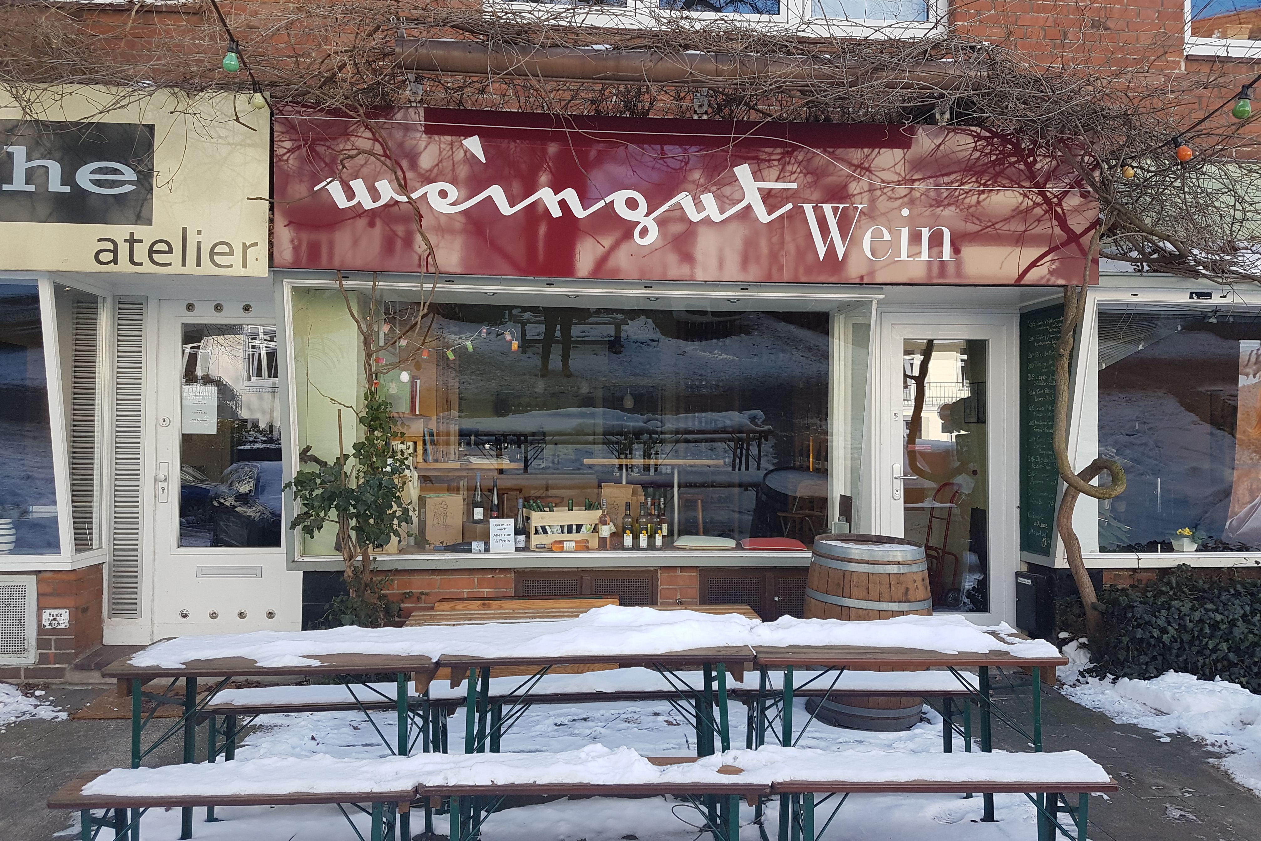 Weingut in der Eichenstraße. Foto: Lena Schnüpke
