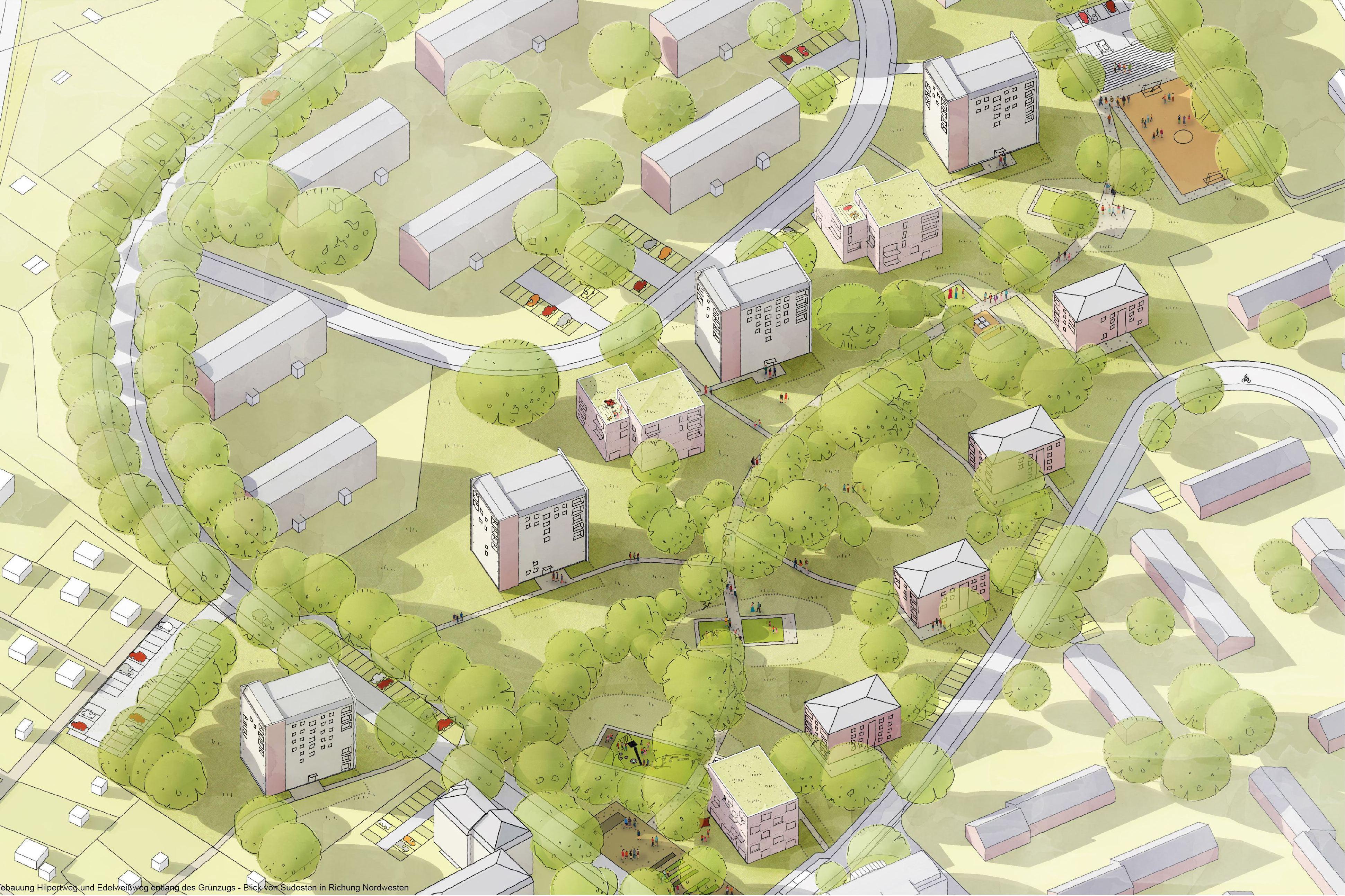 Siegerentwurf für Eisenbahnerviertel in Eidelstedt gekürt