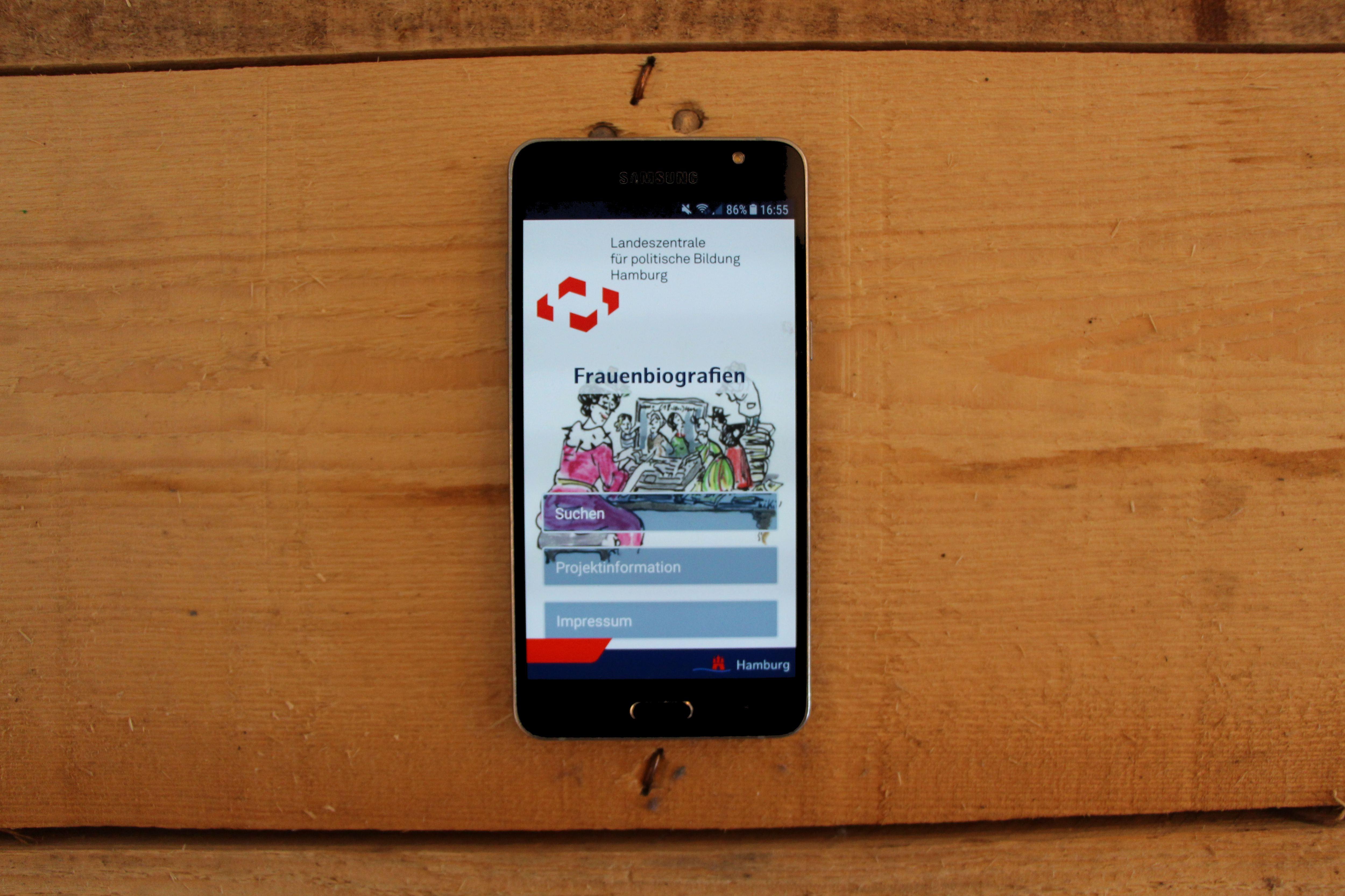 Eine App schreibt Frauengeschichte