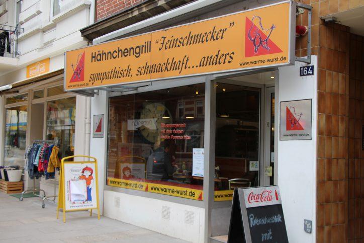 Hähnchengrill Feinschmecker. Foto: Vanessa Leitschuh