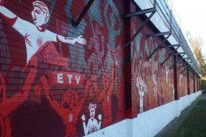 ETV Graffiti am Lokstedter Steindamm. Foto: Friederike van der Laan
