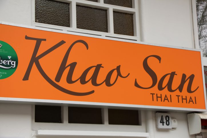 Thailändische Spezialätäten in familärer Atmosphäre gibt es im KHao San Thai Thai. Foto: Robin Eberhardt