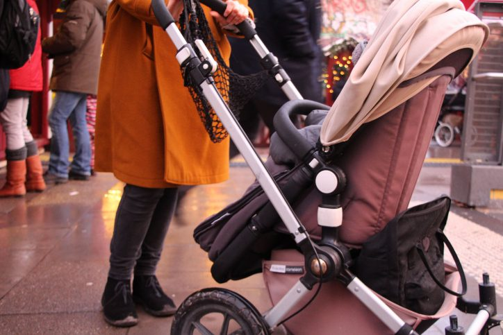 Kinderwagen sind begehrte Objekte. Foto: Samantha Tirtohusodo
