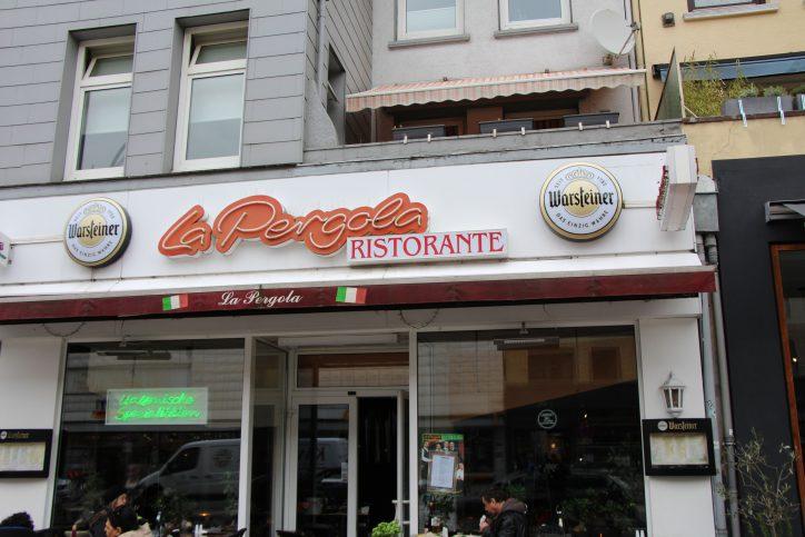 Pizza und weitere italienische Spezialitäten gibt es im La Pergola in der Osterstraße 100. Foto: Robin Eberhardt