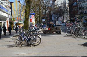 Die osterstraße ist Teil eines Forschungsprojektes über Stadtzentren. Foto: Margarita Ilieva